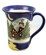 Shard Pottery stoneware coffee mug Victoria Rat... - $15.00