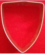 Shield cookie cutter - $5.00