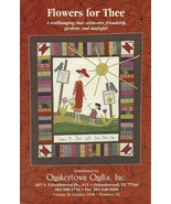 Quakertown Quilts Wallhanging Pattern Flowers f... - $5.93