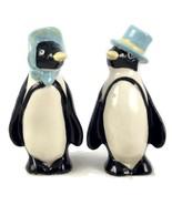 Vintage Ceramic Arts Studio Mr & Mrs Penguin sa... - $48.00
