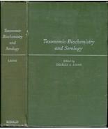Taxonomic biochemistry and serology. - $13.50