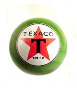 Texaco Star Gas Gasoline Logo Marble Green Glas... - $8.00
