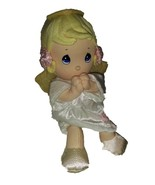 Precious Moments Prayer Pal Girl Angel Doll Plu... - $8.77