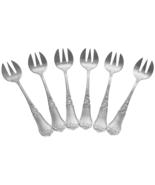 Antique French Saglier Freres Oyster Forks, Set... - $129.00