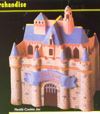 Disneyland Castle Cookie Jar Never Sold Ship World Wide