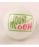 Mountain Dew Soda Pop Glass Logo Collectors Marble - $8.00