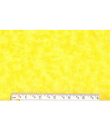 Bright Yellow Tie Dye Flannel, cotton quilting ... - $6.90