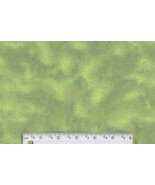 Floral Green Tie Dye Flannel, marble cotton ble... - $6.90