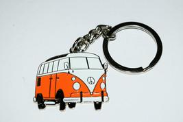 Orange VW Camper Van Keyring Gift Collectable E... - $4.89
