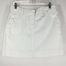 Vineyard Vines Size 8 Skirt Women's White Cotto... - $30.00