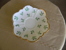 thistle salisbury saucer 6 inch made in england... - $3.99