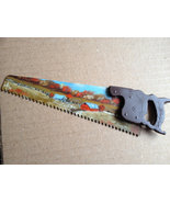 Hand Painted Fall Homestead Mini Handsaw Fridg... - $18.75