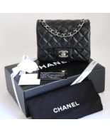 CHANEL Classic MINI Square BLACK Quilted Soft C... - $2,949.00
