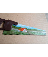 Hand Painted Summer Homestead Mini Handsaw Fri... - $18.75