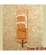 Wall Mount Key Rack, Letter Holders - $33.29