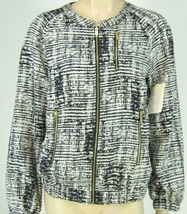 Calvin Klein Black White Jacket Light Weight Zi... - $44.06