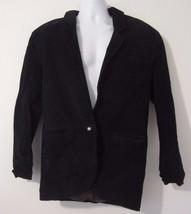 Split End Ltd. Black Leather Cow Hide Lined 1 B... - $37.36