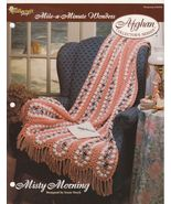 Misty Morning Mile A Minute Crochet Afghan Patt... - $4.99