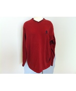 Polo Ralph Lauren Red Men's Sweater Size XL - $30.00