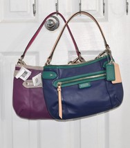 Coach Daisy Spectator Leather Bag With Removabl... - $118.00
