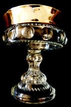 VTG Indiana glass Kings Crown Silve Flash Thumb... - $29.70
