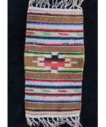 Miniature Vintage Mexico Saltillo Weaving 1930's - $125.00