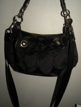 COACH Bag Purse Goovy Poppie Black - $35.00