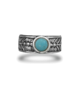 Oxidized Sterling Silver Native American Design... - $25.97