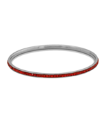 7 Inch Diameter - Thin Silver Tone Fashion Bang... - $7.88