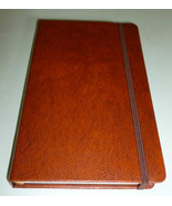 TAN BROWN FAUX LEATHER HARDBACK ESCALADA SKETCH... - $15.99