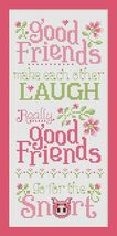 Good Friends cross stitch chart Sue Hillis Desi... - $9.00
