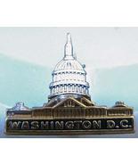 Washington D.C. Vintage Figural Capital Pin Sil... - $7.50