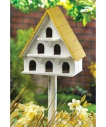 Cape Cod cottage Birdhouse condo MDF bird hous... - $10.90