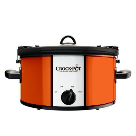 Official NFL Crock-Pot Cook & Carry 6 Quart Slow Cooker - Cleveland Browns