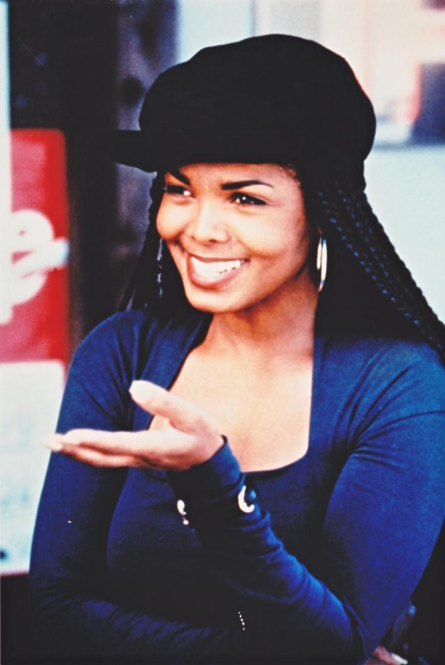 Janet Jackson Young Cornrows