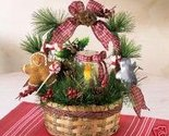 Buy GIFT BASKET FULL OF DECORATIVE HOLIDAY GOODIES NRFB