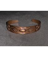 Vintage Copper Navajo Peyote Birds Cuff Bracelet - $49.97