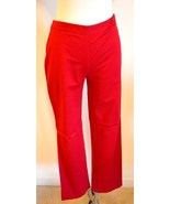 Ann Taylor Pants, Red Skinny Pants Size 4P, 4 P... - $15.00