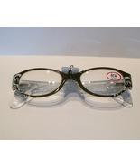 ICU Readers (Reading Glasses), Oval Swirl, Oliv... - $22.50