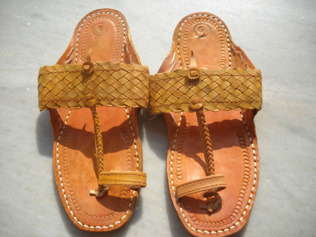 Traditional indian sandals hippie hobo style All sizes Bamboo design