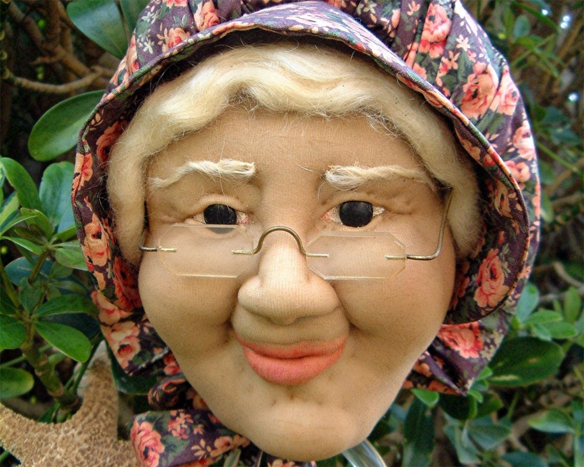 doll olderwoman
