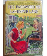 Nancy Drew THE PASSWORD TO LARKSPUR LANE #10 hc... - $78.00