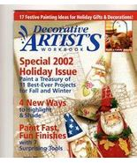 Decorative Artist's Workbook~Oct 2002~LN - $2.00