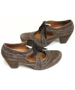 Earthies Sarenza Mary Jane Pumps/Shoes (Women&#39;s 9 Dark Taupe) Open Box Return