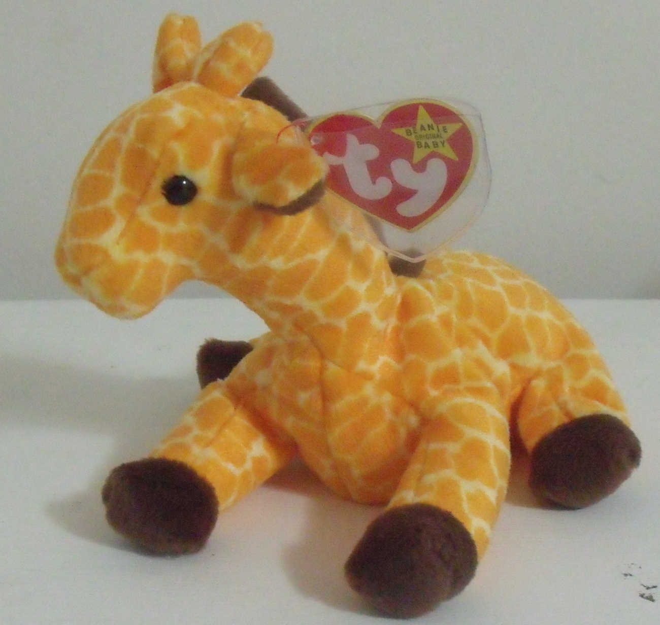Ty Beanie Babies Nwt Twigs The Giraffe Retired Retired