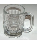 Vintage A&W Glass Mug with Embossed Oval Logo - $10.00