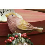 Ceramic Bird Bell Collectible Chickadee New - $10.95