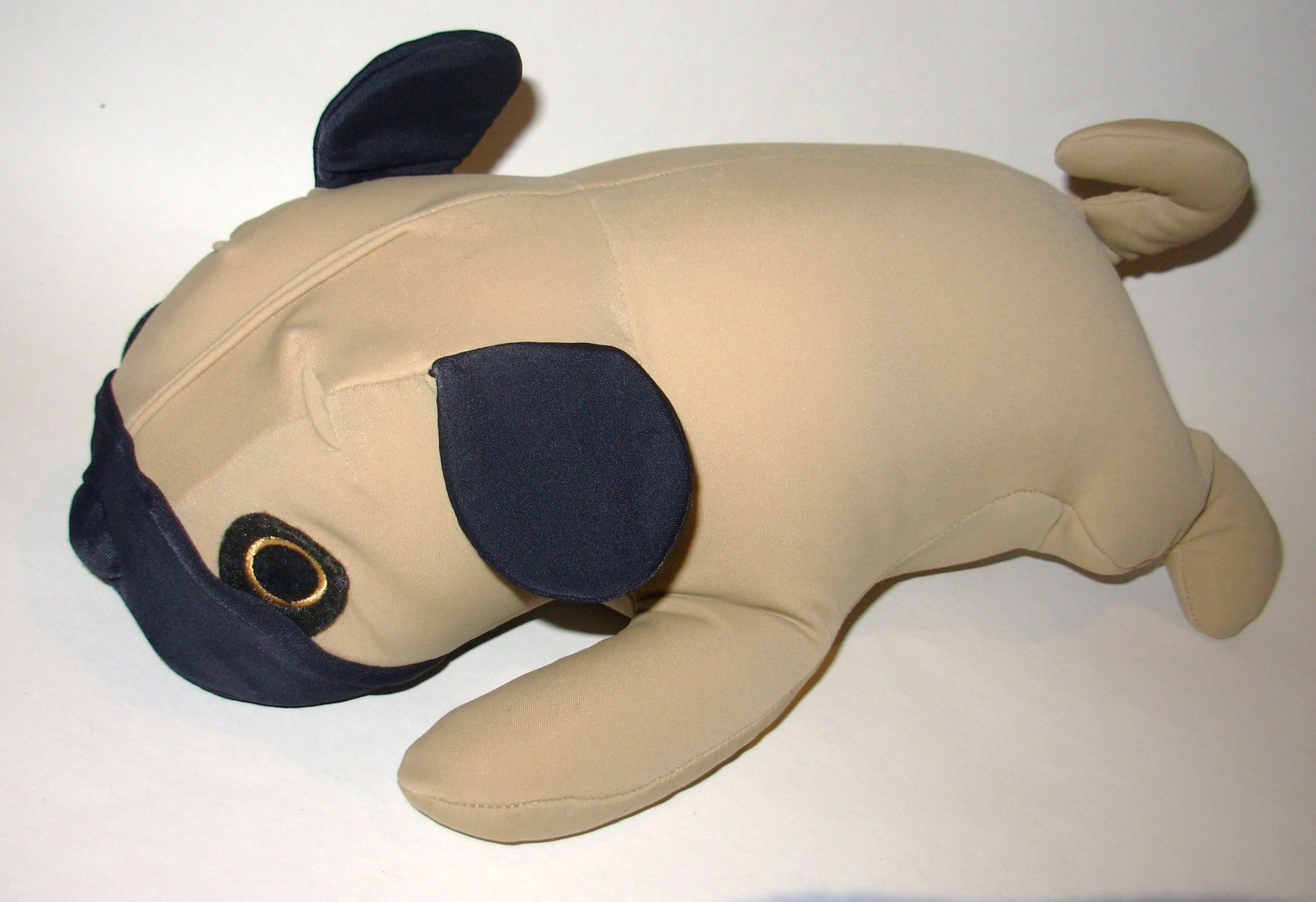 Animal Microbead Pillows : Mogu Dog Pug Puppy Plush Microbead Pillow Stuffed Animal Tan Brown - Other