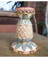 Pineapple Pillar Candle Holder/Candlestick, 6 I... - $11.00