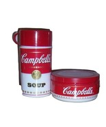 Campbell's Soup Thermos and Insulated Travel Bowl with Lid